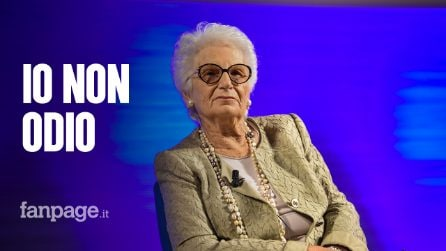 """Milano, la lezione di Liliana Segre agli hater: """"Vanno curati, io non perdono ma non odio"""""""