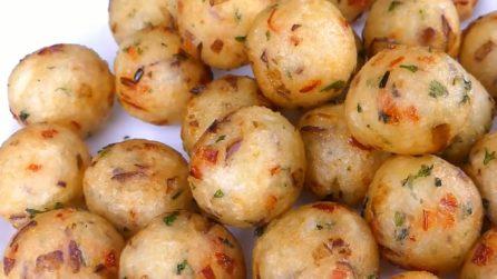 Palline di patate e verdura: il contorno sfizioso e veloce