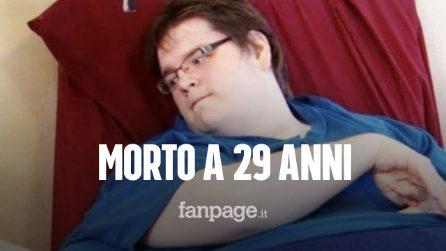 """Morto Sean Milliken, il 29enne protagonista di """"Vite al limite"""" che pesava oltre 450 chili"""