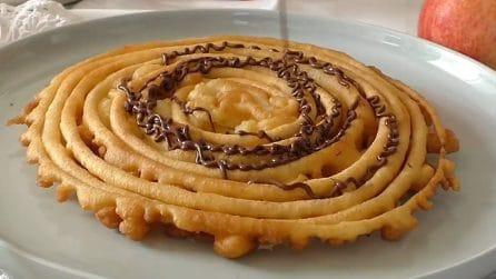 Girella gigante e fritta: un dessert golosissimo e originale