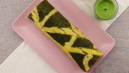 Rotolo salato spinaci e salmone: bello da vedere e buono da mangiare!
