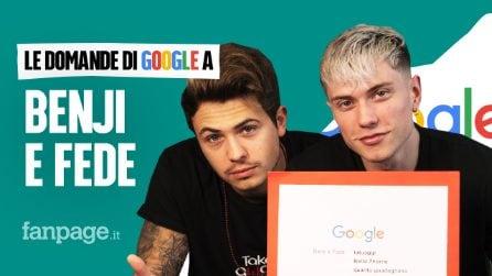 Benji & Fede, Dove e quando, anni, sono fratelli, fidanzati: il duo risponde alle domande di Google