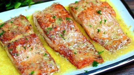Filetti di salmone al burro: il secondo piatto succulento e buonissimo