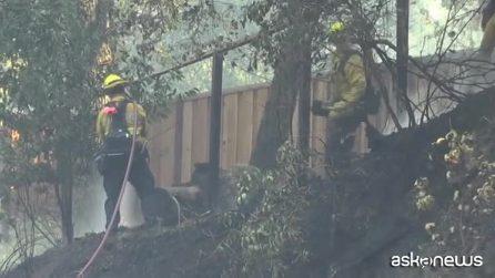Incendi in California, diramato allarme rosso: 200mila sfollati