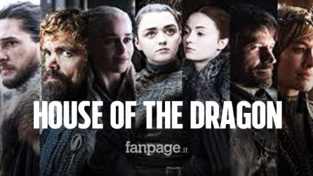 House of the Dragon: arriva la nuova serie dal mondo di Game of Thrones