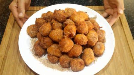 Frittelle di zucca dolci: la ricetta facile e deliziosa