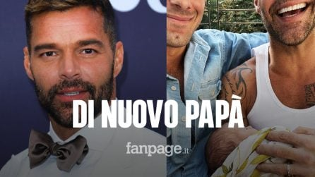 Ricky Martin di nuovo papà, è nato il quarto figlio: si chiama Renn