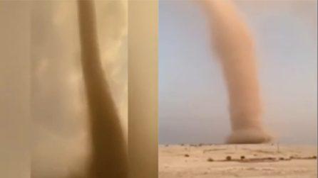 Fortissimo tornado a pochi metri di distanza: le immagini impressionanti
