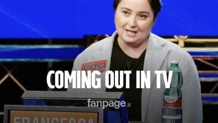 Coming out in tv a L'Eredità: la concorrente Francesca racconta tutto nel suo libro