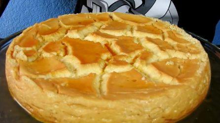 Torta flan con 2 ingredienti: la ricetta del dessert cremoso e goloso