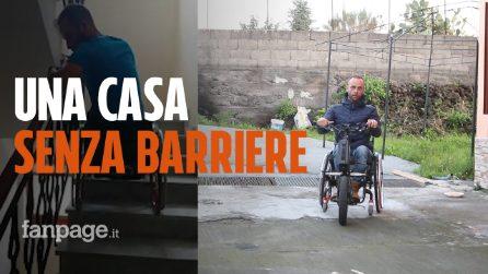 """La vittoria di Carlo e la sua disabilità: """"Finalmente ho una casa senza barriere"""""""