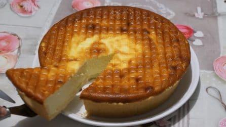 Crostata cremosa al formaggio: la ricetta del dessert cremoso e goloso