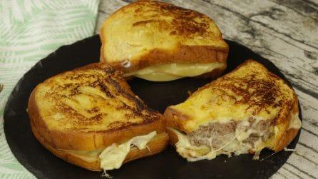 French toast salato: la versione che vi farà leccare i baffi!