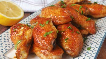 Ali di pollo al forno: la ricetta per averle davvero saporite
