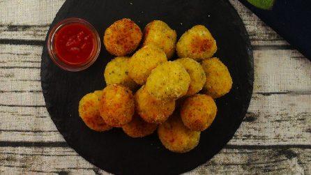 Palline di formaggio filante: pronte con soli 6 ingredienti!