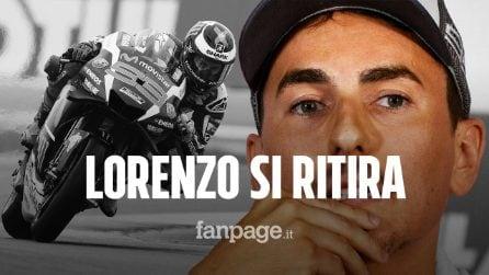"""MotoGP, Jorge Lorenzo dice addio alle corse: """"Mi ritiro, Valencia è la mia ultima gara"""""""