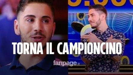 Caduta Libera, torna Nicolò Scalfi per il Torneo dei Campioni: quando andrà in onda