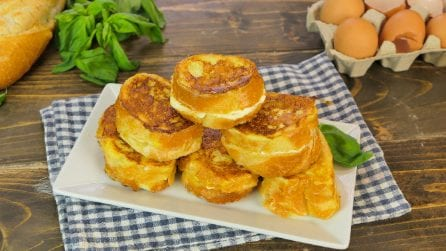 Fried cheese bread: easy, tasty and ready in just a few minutes!