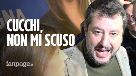 """Sentenza Cucchi, Salvini: """"Non mi scuso, questo dimostra che la droga fa male"""""""