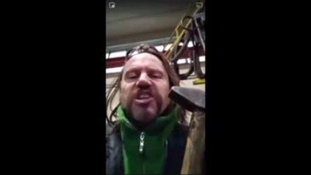"""""""Taglia di 1.000 euro a chiunque violenti giornalisti antifascisti"""", il Vikingo Davide Fabbri nei guai"""