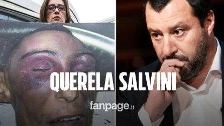 """Processo Stefano Cucchi, Ilaria: """"La droga fa male? Valutiamo querela contro Matteo Salvini"""""""