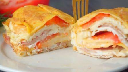 Omelette soufflé: la ricetta del secondo piatto saporito