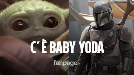 C'è un baby Yoda in The Mandalorian, la nuova serie di Star Wars