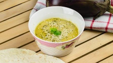 Babaganoush: l'appetitosa salsa di melanzane tipica della cucina mediorientale!