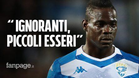 """""""Non sarai mai del tutto italiano"""", la risposta di Mario Balotelli all'ultrà dell'Hellas Verona"""