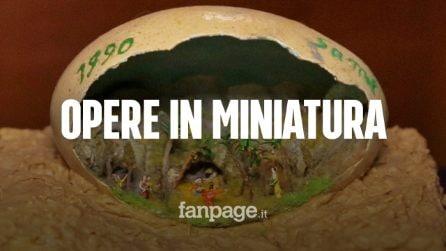A Napoli il museo delle opere in miniatura, tra presepi e Divina Commedia