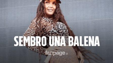 """Elettra Lamborghini col seno in mostra agli Mtv Europe Music Awards: """"Sembro una balena"""""""