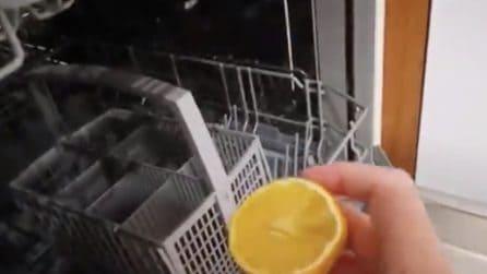 Come pulire la lavastoviglie ed eliminare i cattivi odori