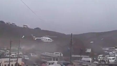 L'elicottero con a bordo Evo Morales perde quota: il presidente boliviano salvo