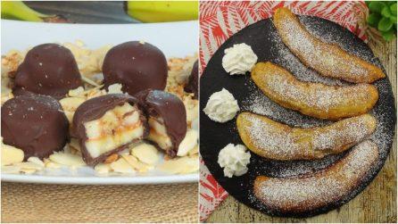 3 dolcetti facili e sfiziosi che potrete preparare con una banana!