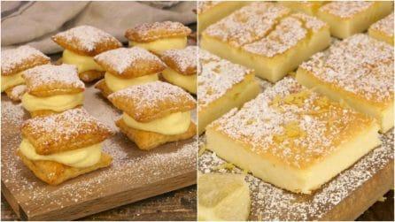 3 ricette per dei dolcetti facili e veloci da preparare!