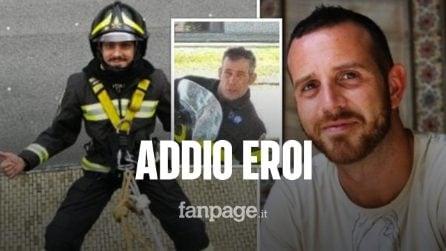 Nino Candido, Marco Triches e Matteo Gastaldo: chi sono i vigili del fuoco morti ad Alessandria