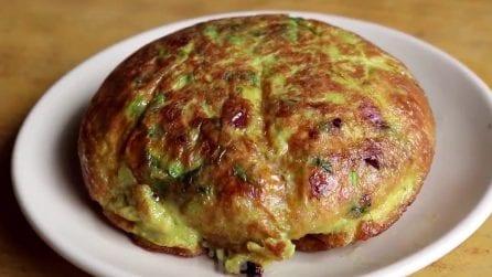 Soufflé omelette: una ricette bellissima e deliziosa