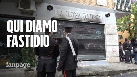 """La Pecora Elettrica di Centocelle di nuovo dato alle fiamme: """"Qui diamo fastidio"""""""