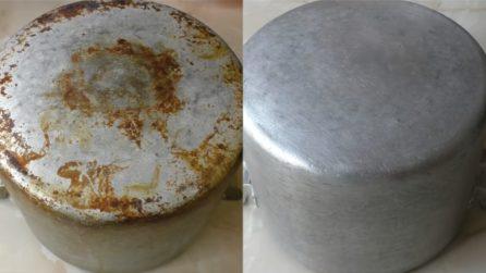 Come pulire una pentola bruciata: il metodo veloce ed efficace