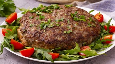 Meat cake: a 30-minute recipe that feed a crowd!
