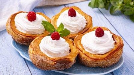Cestini di churros: un modo originale per servire il dessert!
