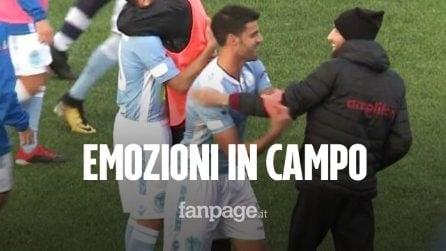 Puglia, capitano del Vieste cede la fascia all'avversario malato di tumore