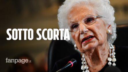 Liliana Segre vivrà sotto scorta: assegnata la tutela dopo le minacce e gli insulti ricevuti