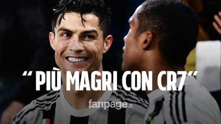 """Douglas esalta Cristiano Ronaldo: """"Grazie a lui siamo tutti più magri e positivi"""""""