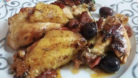 Pollo alla cacciatore: la ricetta del secondo piatto gustoso