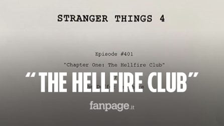 "Stranger Things quarta stagione: il titolo del primo episodio è ""The Hellfire Club"" e ricorda X Men"