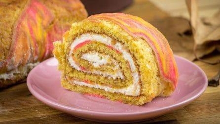 Rotolo con crema: il dolce autunnale che sorprenderà chiunque!