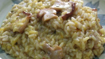 Risotto ai funghi porcini: il primo piatto cremoso e saporito