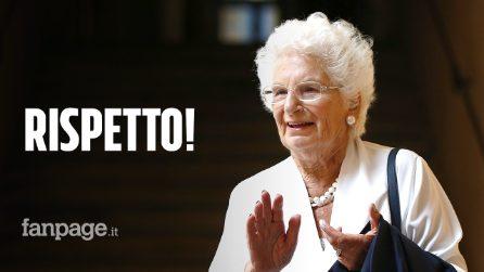 Dai campi di Auschwitz alla scorta per le offese antisemite. Liliana Segre merita rispetto