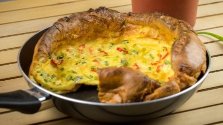 Savory dutch baby pancake: the result is amazing!